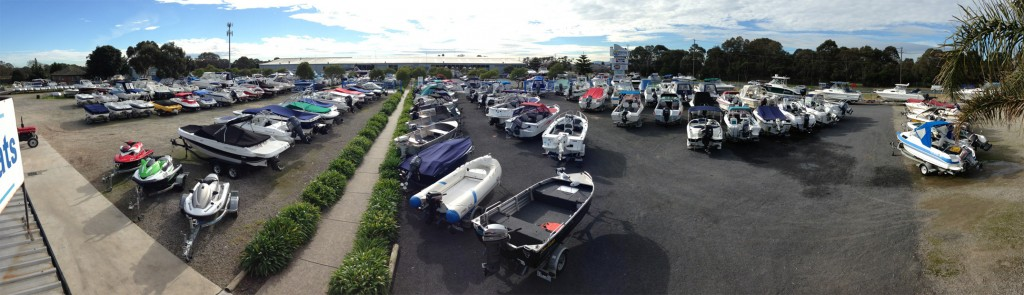 used yard panoramic