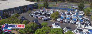 Quintrex Boats at JV Marine World