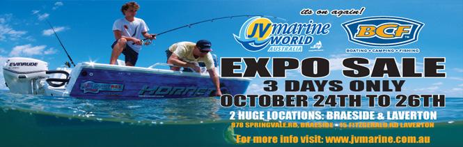 JV MARINE EXPO SALE