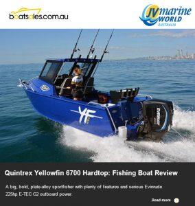 Quintrex Yellowfin 6700