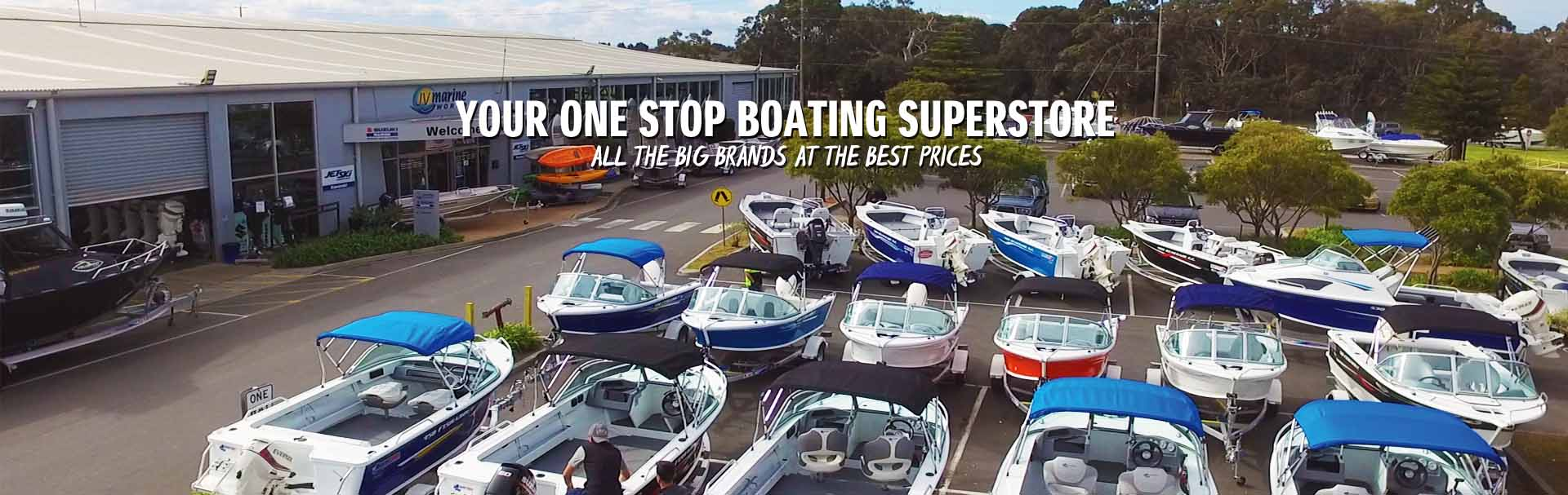 Jv Marine World Australia S Largest Boating Retailer