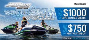 Kawasaki Jetski - Winter Promo Slider
