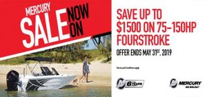 Mercury Outboards SALE
