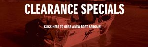 New Boats Clearance Specials
