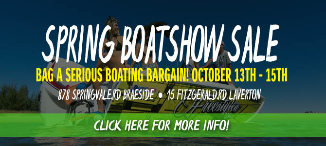 New Boats October Sale