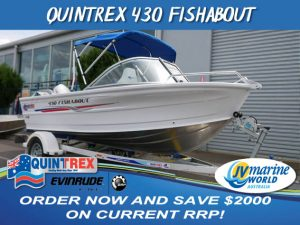 QUINTRE 430 FISHABOUT NEW BOATS