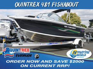 QUINTREX 481 FISHABOUT NEW BOATS