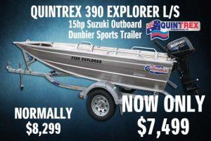 Quintrex 390 Explorer