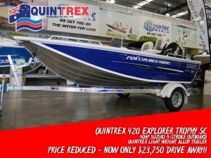Quintrex 420 Explorer Trophy