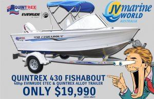 Quintrex Boats - Quintrex 430 Fishabout Special