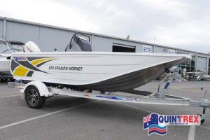 Quintrex 470 Stealth Hornet