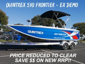 Quintrex 590 Frontier Super Special New boats