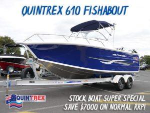 Quintrex 610 Fishabout Super Special New boats