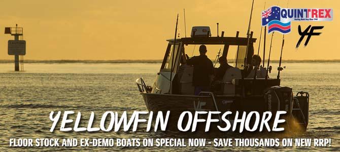 Quintrex Yellowfin Boats