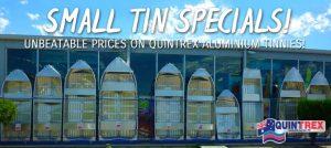 Quintrex aluminium tinnies