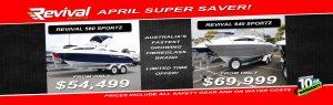 Revival Boats April Offer