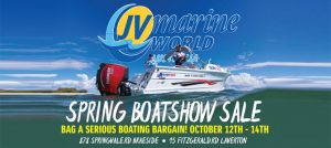 Spring Boatshow Sale at JV Marine World
