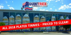 2018 plate sale Quintrex tinnies