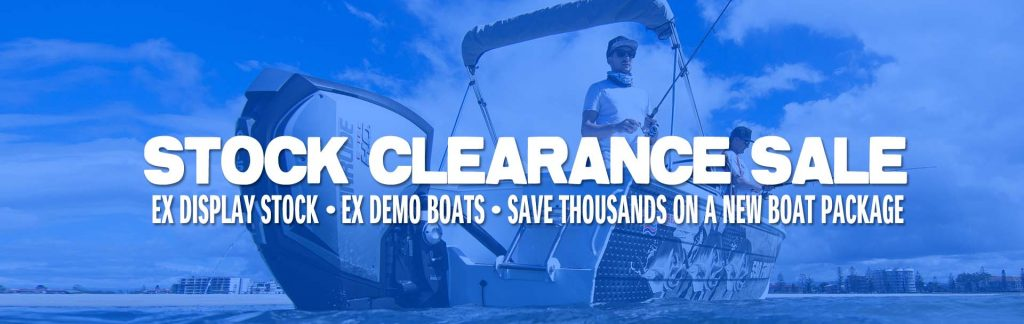 NEW BOATS STOCK CLEARANCE SALE 2019