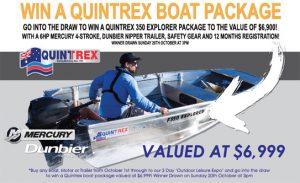 Win a Quintrex Boat
