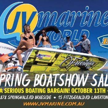 JV Marine Spring Boatshow Sale