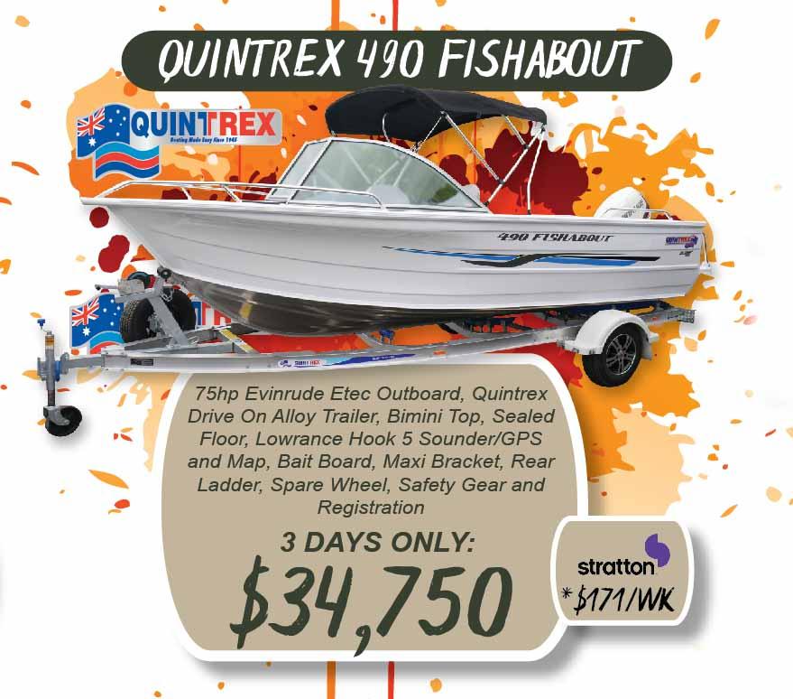 Quintrex 490 Fishabout