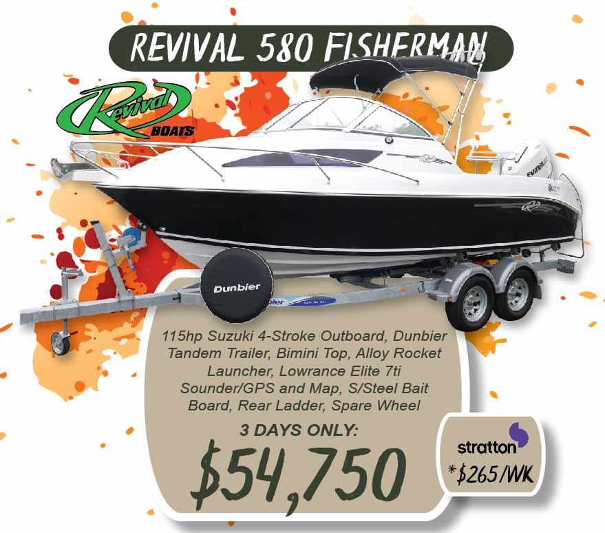 Revival 580 Fisherman
