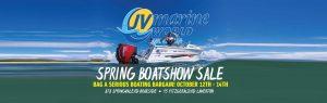 Spring Boatshow Sale at JV Marine World