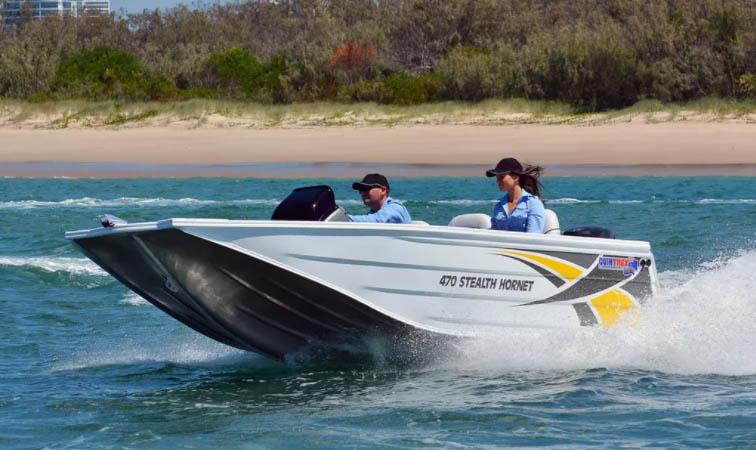 quintrex-470-stealth-hornet - jv marine world