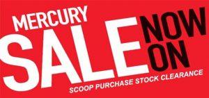 Mercury Outboard Sale Aug 2019