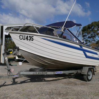 Used Boat - Quintrex 470 Reefmaster