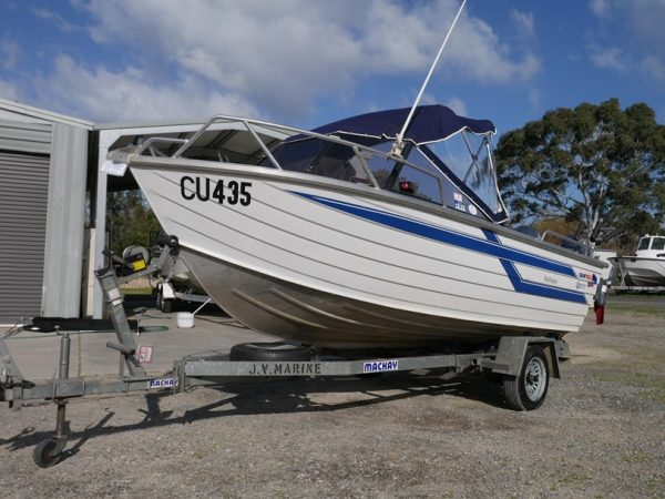 Used Boat - Quintrex 470 Reefmaster