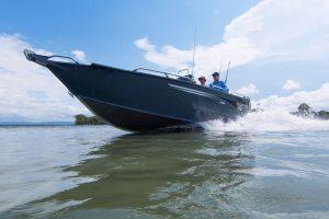yellowfin boats