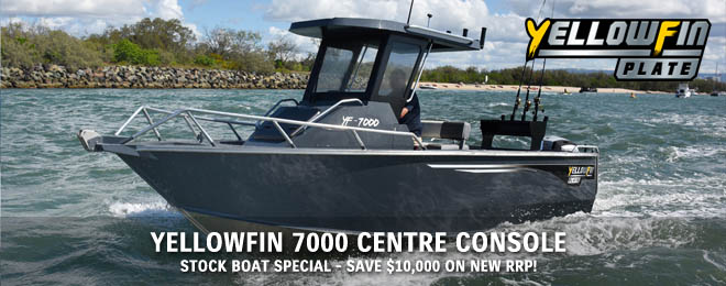 Yellowfin 7000 Centre Console
