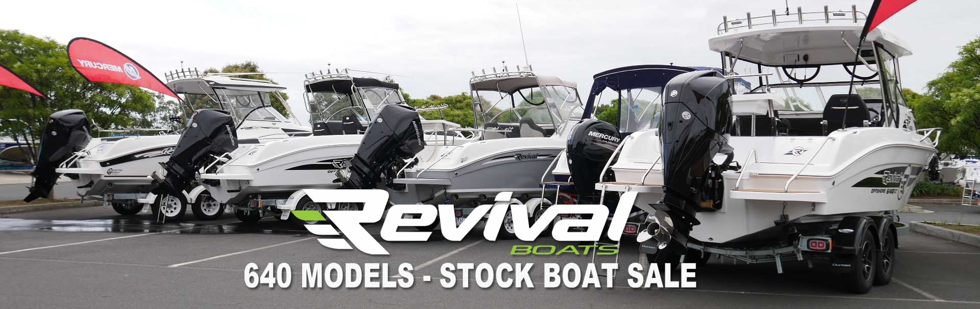 Revival 640 STock Boats SALE