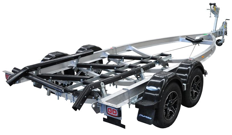 Dunbier Alloy Loader Trailer